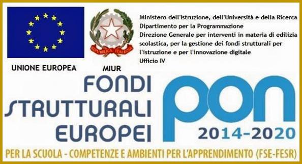 PON - Fondi Strutturali Europei