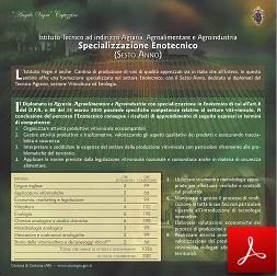 Scheda Sesto Anno - Tecnico Sportivo