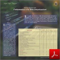 Scheda Tecnico Informatica e Telecomunicazioni