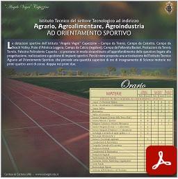 Scheda Tecnico Sportivo